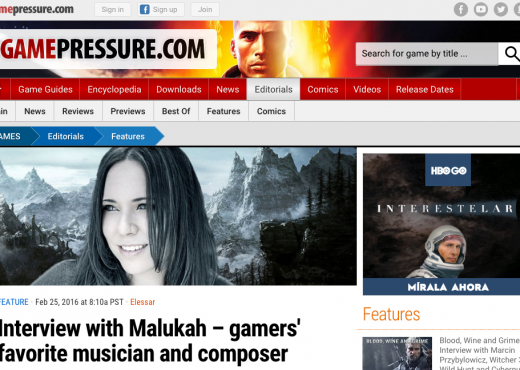 Game Pressure Interview Malukah
