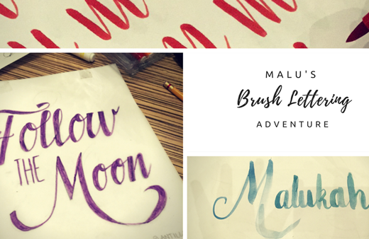 Brush Lettering Malukah