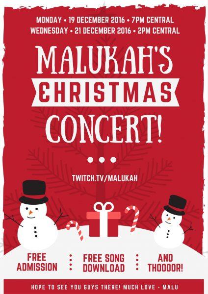 Malukahs Christmas Concert