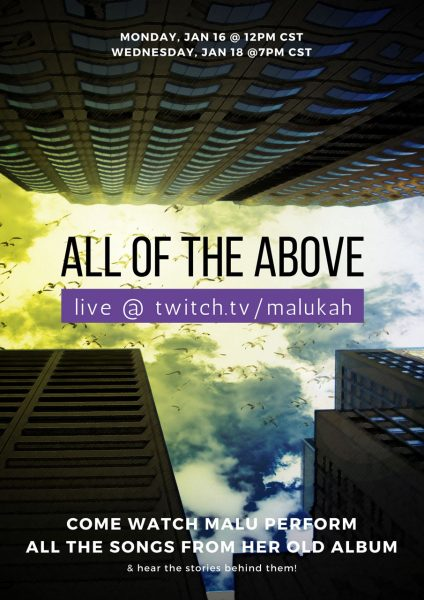 All of the Above - Malukah Live