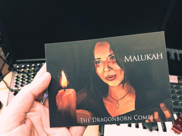 Malukah Postcard