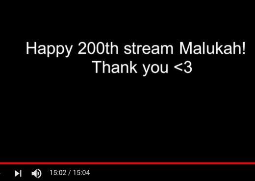 Malukah 200th stream