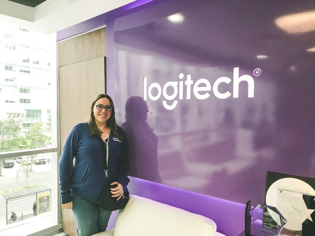 Malukah Visits Logitech